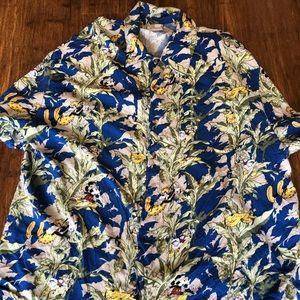 Disney explorers Hawaiian shirt